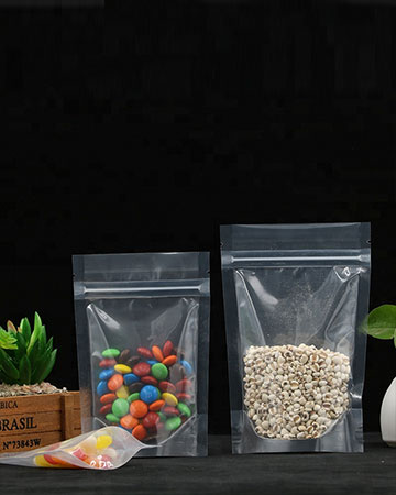Laminated Printing  Packaging Chocolate Stand Up Zip Lock Bag