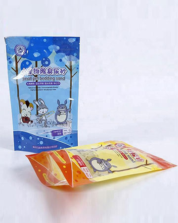 china factory Heat seal heal side printed plastic bags for food