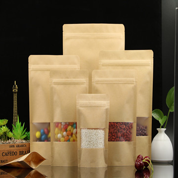 Kraft paper bags usage and materials