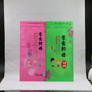 reusable high quality white Plastic bag for nuts